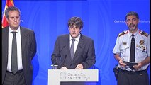 Puigdemont confirma que los Mossos han matado a Younes Abouyaaqub