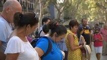 Las Ramblas de Barcelona tratan de volver a la normalidad