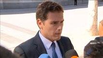 """Rivera, a Sánchez: """"No se trata de hacer comisiones para contentar a Junqueras o Puigdemont"""""""