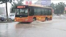 Alerta máxima por lluvias torrenciales en Pekín