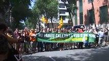 El TC suspende por unanimidad la vía exprés de la independencia de Cataluña