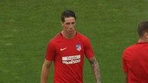 El Atlético vuelve al tajo con la noticia de la renovación de Fernando Torres