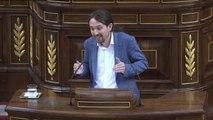 """Iglesias a Rajoy: """"No sé si alguien que tiene tantos amigos en la cárcel, es de fiar"""""""