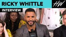 "Ricky Whittle from ""American Gods"" Goes Shirtless For Season 2 & Calls Out Mousa Kraish! 