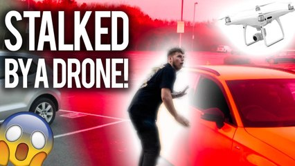 STALKED MY BRO WITH A DRONE FOR 24 HOURS