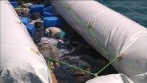 Hallan los cadáveres de ocho inmigrantes dentro de una embarcación cerca de las costas de Libia