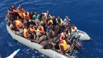 Salvamento Marítimo y la Guardia Civil rescatan a 173 inmigrantes a bordo de cuatro pateras