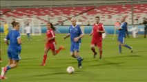 Partidos de fútbol entre leyendas de este deporte para erradicar el racismo, promover el fútbol femenino y 'limpiar' la imagen de la FIFA