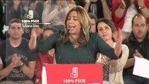 """Susana Díaz: """"No voy a permitir que los votos de los socialistas sirvan para entregar este partido a nadie"""""""