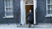May se reune con Juncker y Barnier para abordar el Brexit