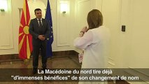 Skopje tire déjà profit de l'accord avec Athènes (Zaev)