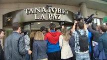 Familiares, amigos y el mundo del toro despiden a Sebastián Palomo Linares