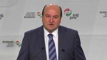 """Ortuzar: """"No es un buen acuerdo solo para Euskadi sino también para todo el Estado"""""""