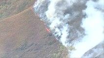 Galicia activa el nivel dos de alerta por la cercanía del incendio a las viviendas de Covas en Ferrol