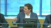 """Rivera espera cerrar el acuerdo de los Presupuestos """"en las próximas horas"""""""