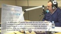 Las supuestas amenazas a periodistas por parte de Podemos en boca de todos