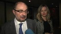Javier Lambán muestra su preferencia por Susana Díaz