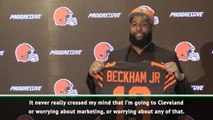 Beckham predicts makings of an iconic moment at Browns