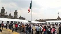 43 lloronas recuerdan en México a los 43 de Iguala en una protesta