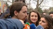 Pablo Iglesias insiste en la retirada de la misa en la televisión pública