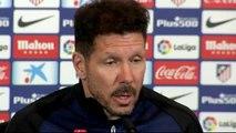 """Simeone: """"Nosotros hemos bajado la regularidad y los demás han mejorado"""""""