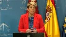 """La portavoz del Gobierno de Murcia: """"El presidente siempre cumple su palabra y cumple con la ley"""""""