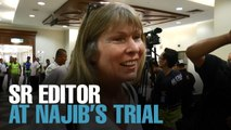 NEWS: Sarawak Report editor at KL court complex