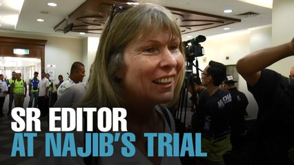 NEWS: Sarawak Report editor at KL court complex