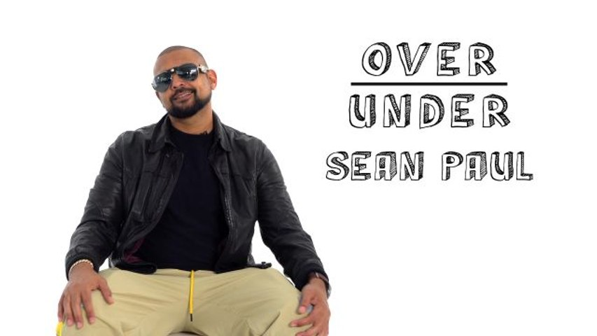 Sean Paul Rates Pet Sunglasses, Nike Eyebrows, and Rainbow Teeth
