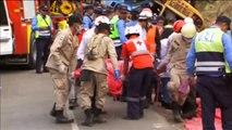 Mueren 16 personas en accidente de autobús en Honduras