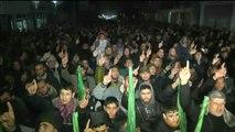 Simpatizantes de Hamás celebran en Gaza el ataque terrorista de Jerusalén