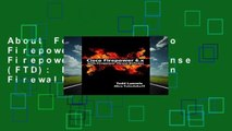 About For Books  Cisco Firepower 6.x with Firepower Threat Defense (FTD): Next Generation Firewall