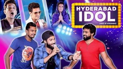 HYDERABAD IDOL  Indian Idol Spoof  Funny Reality Show  Kiraak Hyderabadiz