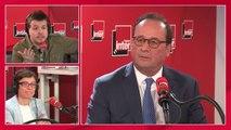 """François Hollande : """"Je voterai pour les socialistes [aux élections européennes] mais encore faut-il qu'il y en ait"""""""