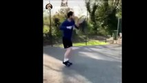 Tennis - Andy Murray shared a video of him hitting a tennis ball against a wall, as he recovers from his hip operation