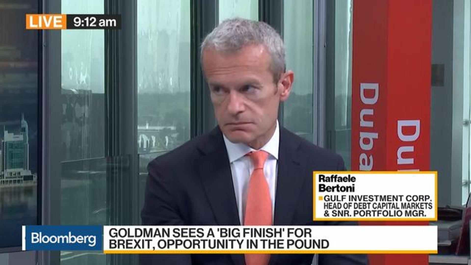 U.K. Pound Is Very Cheap, Says Gulf Investment's Bertoni