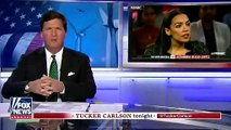 Alexandria Ocasio-Cortez Is 'A Moron And Nasty' Says Tucker Carlson