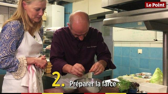 Christine and the Chefs #12 :  le phô de langoustines aux petits légumes