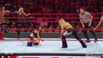 sasha banks, bayley, natalya and beth phoenix vs nia jax, tamina and iiconics 8 women's tag team match wwe monday night raw april 01 2019