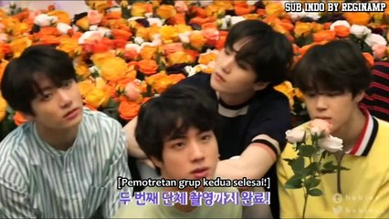 INDO SUB] BTS Love Yourself DVD   MD & Poster Making Film   HaydiSeyret