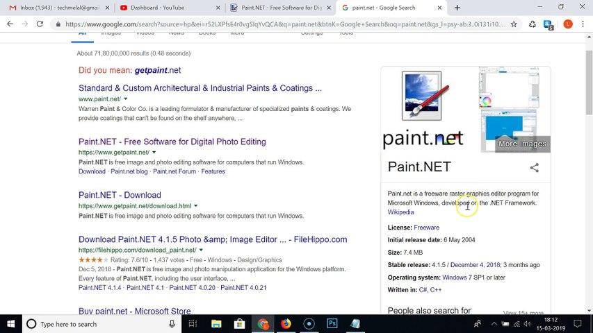 How to Download and Install Paint net on Windows 10?
