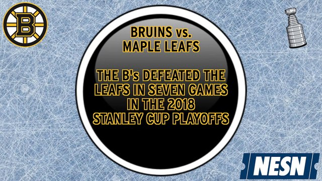 Bruins vs. Maple Leafs: Five Facts For Stanley Cup Playoffs 1st Round Matchup