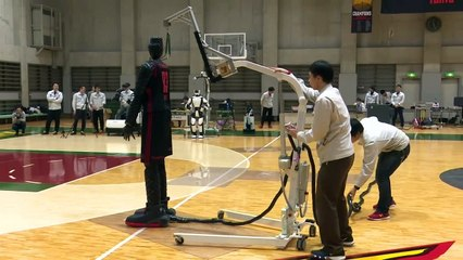 Is this robot better than professional basketball players?
