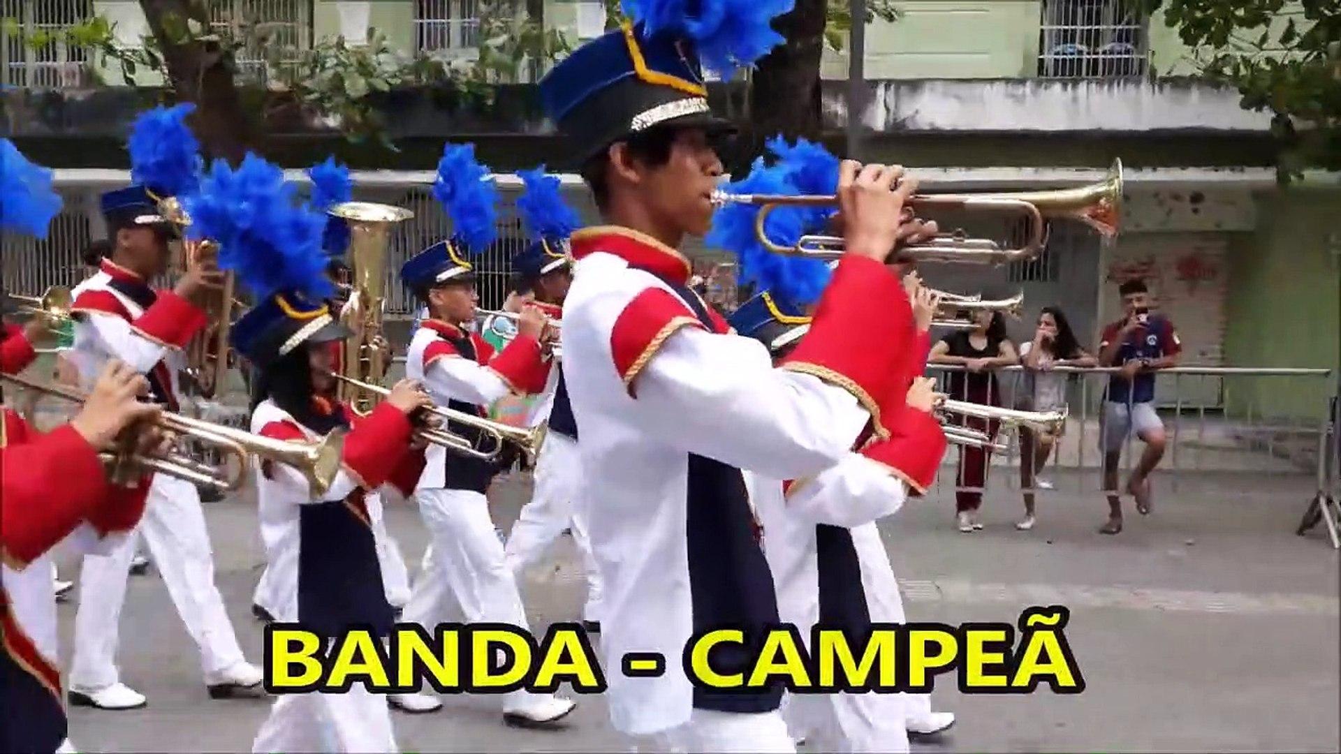 CNBF - 2018 _ Banda Marcial Profa Maria Bronzeado Machado _ CAMPEONATO NACIONAL DE BANDAS E FANFARRA