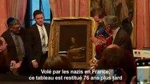 Volé par les nazis, restitué 76 ans après aux héritiers français