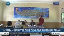Mantan Napi Teroris di Lamongan Deklarasi Pemilu Damai