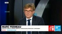 Marc Fesneau, ministre auprès du Premier ministre, chargé des Relations avec le Parlement