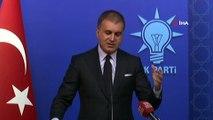 AK Parti Sözcüsü Ömer Çelik: 'Sürecin patronu YSK'dır'