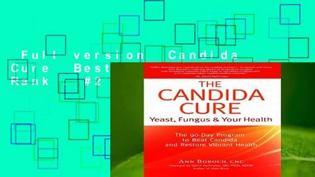 Full version  Candida Cure  Best Sellers Rank : #2