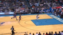 Paul George makes audacious 360-degree dunk